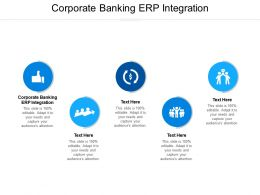 Corporate Banking ERP Integration Ppt Powerpoint Presentation Pictures Show Cpb