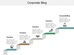 Corporate Blog Ppt Powerpoint Presentation File Layout Cpb