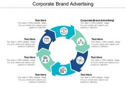 Corporate Brand Advertising Ppt Powerpoint Presentation File Graphics Cpb