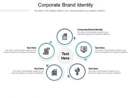 Corporate Brand Identity Ppt Powerpoint Presentation Styles Designs Download Cpb