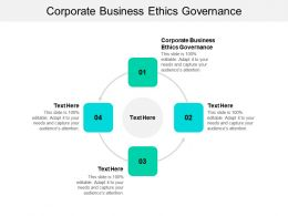 Corporate Business Ethics Governance Ppt Powerpoint Presentation Pictures Demonstration Cpb
