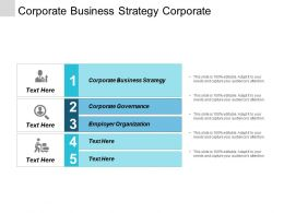 Corporate Business Strategy Corporate Governance Employer Organization Revenue Strategies Cpb