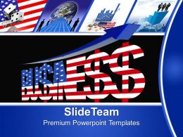 Corporate Business Strategy Powerpoint Templates Usa America Ppt Themes