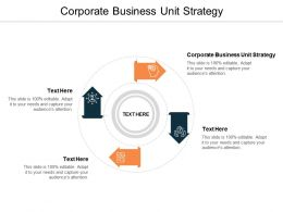 Corporate Business Unit Strategy Ppt Powerpoint Presentation Layouts Themes Cpb