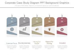 Corporate Case Study Diagram Ppt Background Graphics