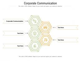 Corporate Communication Ppt Powerpoint Presentation Icon Example File Cpb