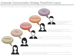 Corporate Communication Strategy Powerpoint Layout