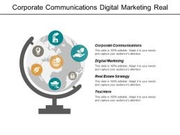 Corporate Communications Digital Marketing Real Estate Strategy Future Business Cpb