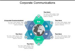 Corporate Communications Ppt Powerpoint Presentation Gallery Infographic Template Cpb