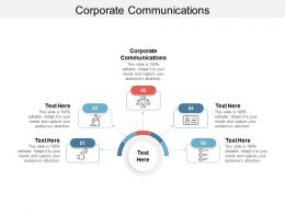 Corporate Communications Ppt Powerpoint Presentation Infographic Cpb