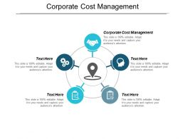 Corporate Cost Management Ppt Powerpoint Presentation File Layouts Cpb