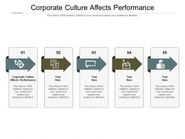 Corporate Culture Affects Performance Ppt Powerpoint Presentation Portfolio Layout Ideas Cpb