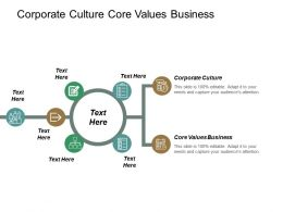 corporate_culture_core_values_business_product_development_outsourcing_cpb_Slide01