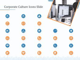 Corporate Culture Icons Slide Ppt Powerpoint Presentation Summary Graphics