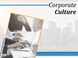 Corporate Culture Powerpoint Presentation Slides