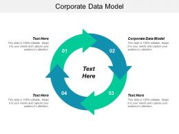 Corporate Data Model Ppt Powerpoint Presentation Professional Outline Cpb