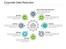 Corporate Debt Reduction Ppt Powerpoint Presentation Pictures Gallery Cpb
