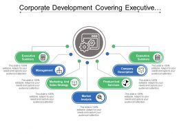 Corporate Development Covering Executive Summary Company Description