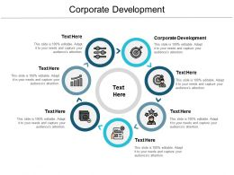 Corporate Development Ppt Powerpoint Presentation Icon Background Image Cpb