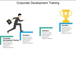 Corporate Development Training Ppt Powerpoint Presentation Icon Outline Cpb
