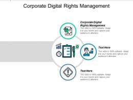 Corporate Digital Rights Management Ppt Powerpoint Presentation Icon Gallery Cpb