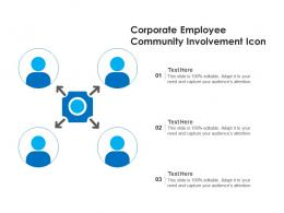 Corporate Employee Community Involvement Icon