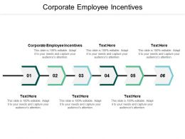 Corporate Employee Incentives Ppt Powerpoint Presentation Slides Topics Cpb