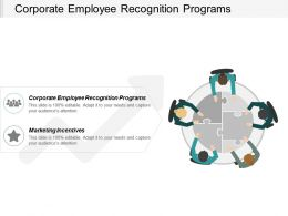 Corporate Employee Recognition Programs Marketing Incentives Customer Lifecycle Chart Cpb