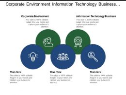 Corporate Environment Information Technology Business Mobile Marketing