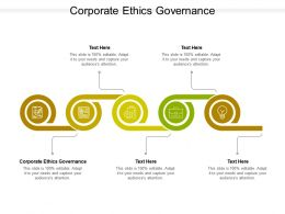Corporate Ethics Governance Ppt Powerpoint Presentation Portfolio Clipart Cpb