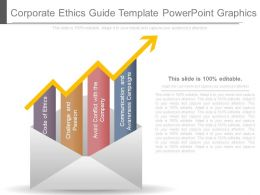 Corporate Ethics Guide Template Powerpoint Graphics