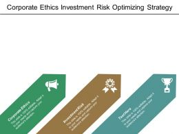 Corporate Ethics Investment Risk Optimizing Strategy Leadership Engagement Cpb