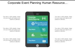 Corporate Event Planning Human Resource Development Email Marketing Cpb