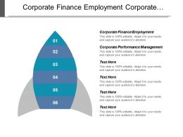 Corporate Finance Employment Corporate Performance Management Customer Database Service Cpb