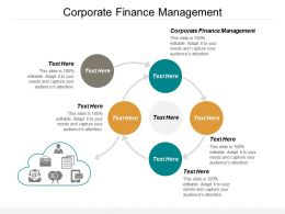 Corporate Finance Management Ppt Powerpoint Presentation Ideas Visuals Cpb