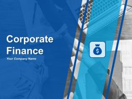 Corporate Finance Powerpoint Presentation Slides