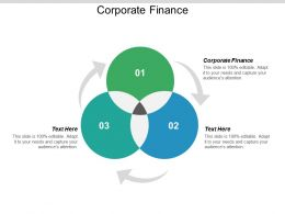 Corporate Finance Ppt Powerpoint Presentation Outline Layouts Cpb