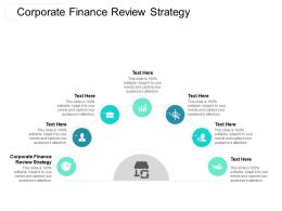 Corporate Finance Review Strategy Ppt Powerpoint Presentation Outline Infographic Template Cpb