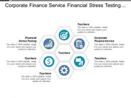 Corporate Finance Service Financial Stress Testing Enterprise Marketing Improvement Cpb