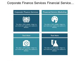Corporate Finance Services Financial Service Marketing Business Marketing Survey Cpb