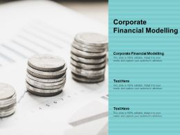 Corporate Financial Modelling Ppt Powerpoint Presentation Professional Topics Cpb