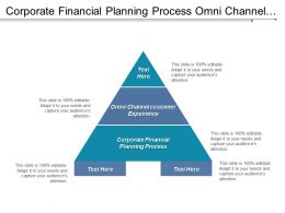 Corporate Financial Planning Process Omni Channel Customer Experience Cpb