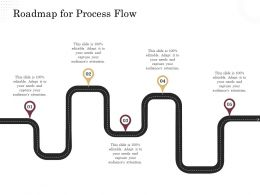 Corporate Financing Through Debt Vs Equity Roadmap For Process Flow Ppt Powerpoint Presentation Deck