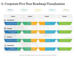 Corporate Five Year Roadmap Visualization