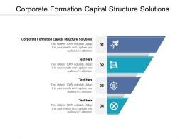 Corporate Formation Capital Structure Solutions Ppt Powerpoint Presentation Portfolio Graphics Cpb