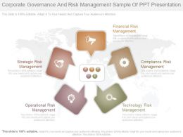 Corporate Governance And Risk Management Sample Of Ppt Presentation