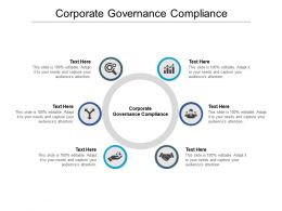 Corporate Governance Compliance Ppt Powerpoint Presentation Styles Icons Cpb