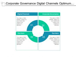 Corporate Governance Digital Channels Optimum Control Pricing Price Optimization Cpb