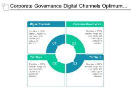Corporate Governance Digital Channels Optimum Control Pricing Price Optimization Cpb