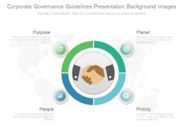 Corporate Governance Guidelines Presentation Background Images